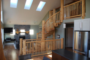 Log Staircase Designs