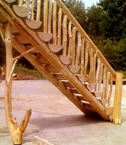 Log Stairs44