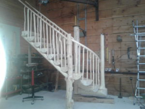 Log Stairs54