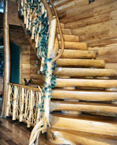 Log Stairs56