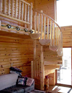 Log Stairs60