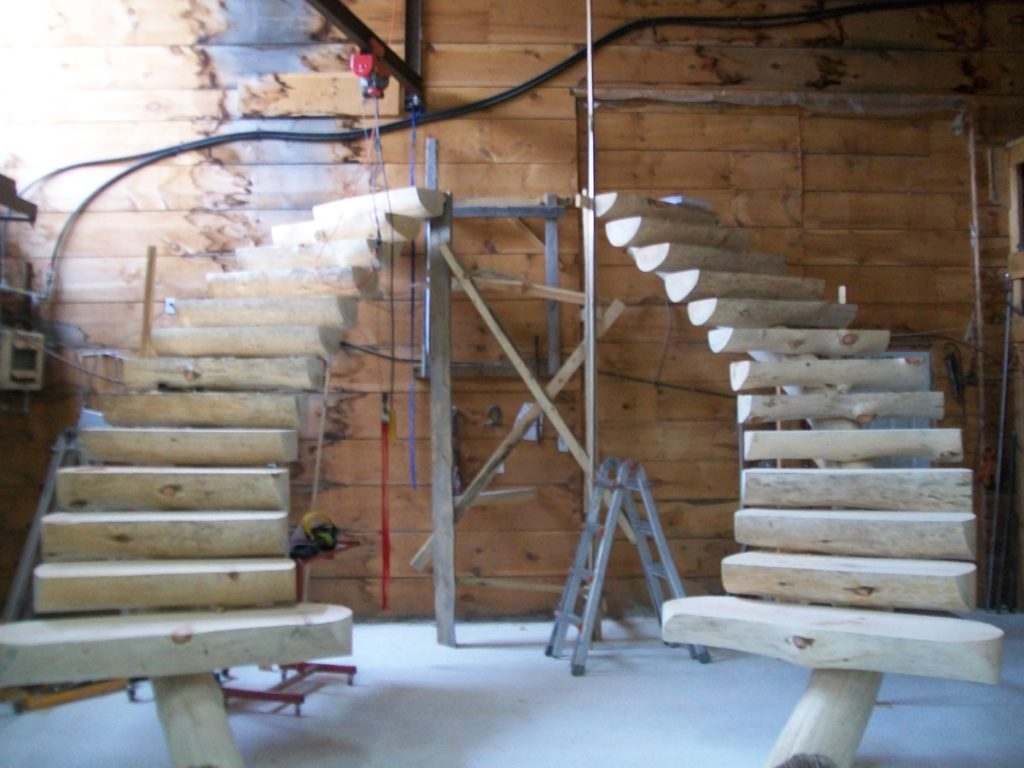 Rustic Staircase Ideas
