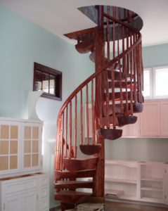 LOG STAIR