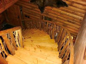 Log Stairs41